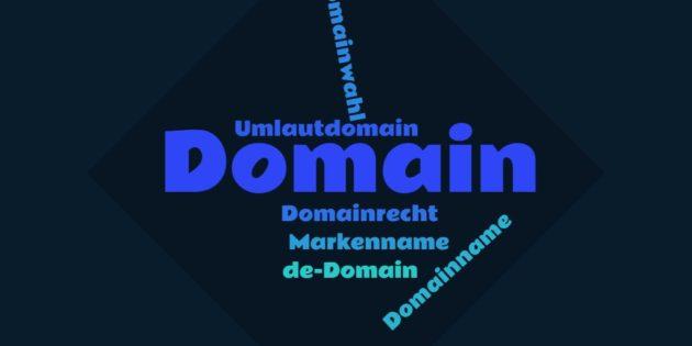 Domainwahl